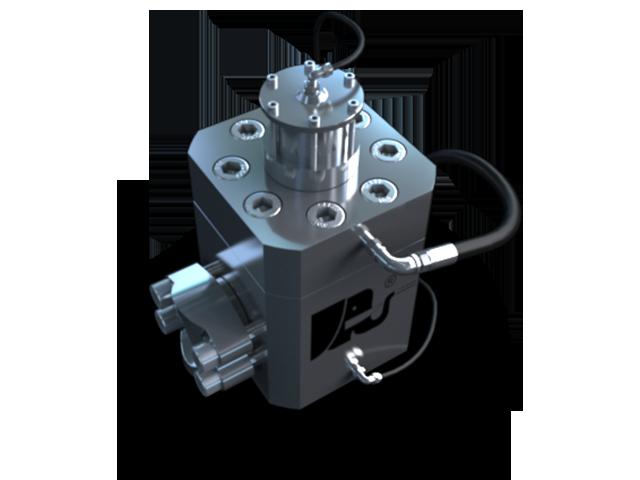 Hochdruck Wasserventil mit pneumatischer Ansteuerung